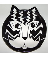 Cats by Nina Black and White Cat Ear Platter - $24.00