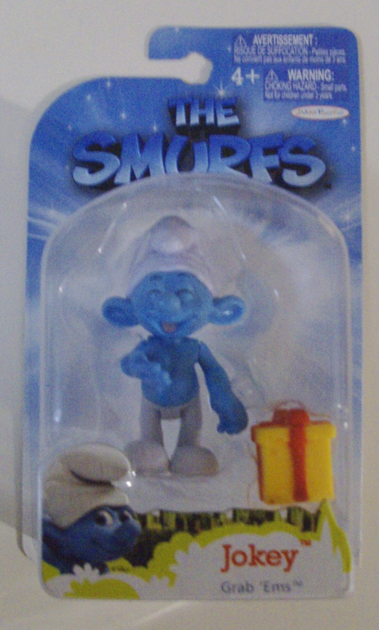 The Smurfs 3D Movie Jokey Smurf Grab 'Ems toy action ...