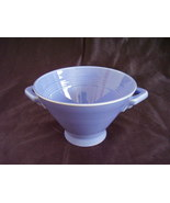 Vintage Homer Laughlin Harlequin Mauve Blue Sugar Bowl - $47.52