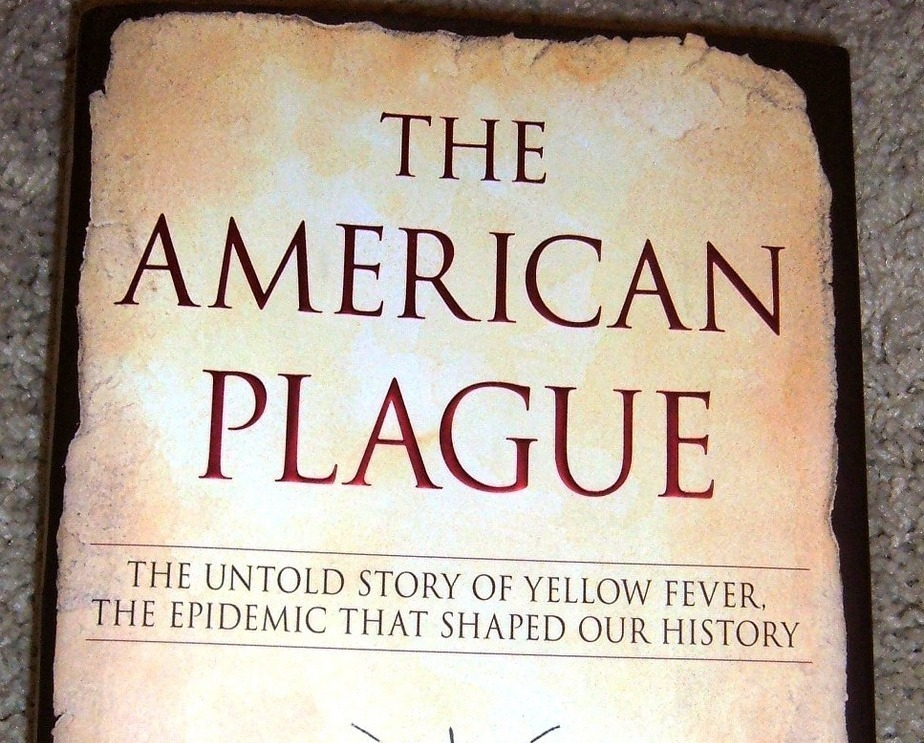 The American Plague Signed by Author Molly Caldwell Crosby