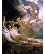 Pierre Narcisse Gurin, Morpheus and Iris, 1811, Greek Mythology, Nudes, ... - $23.99