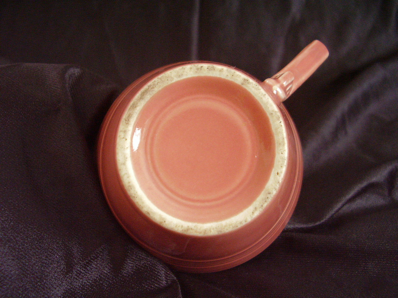 Vintage Homer Laughlin Harlequin Rose Teacup Coffee Cup