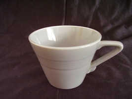 Vintage Homer Laughlin Harlequin Gray Grey Teacup - $30.96