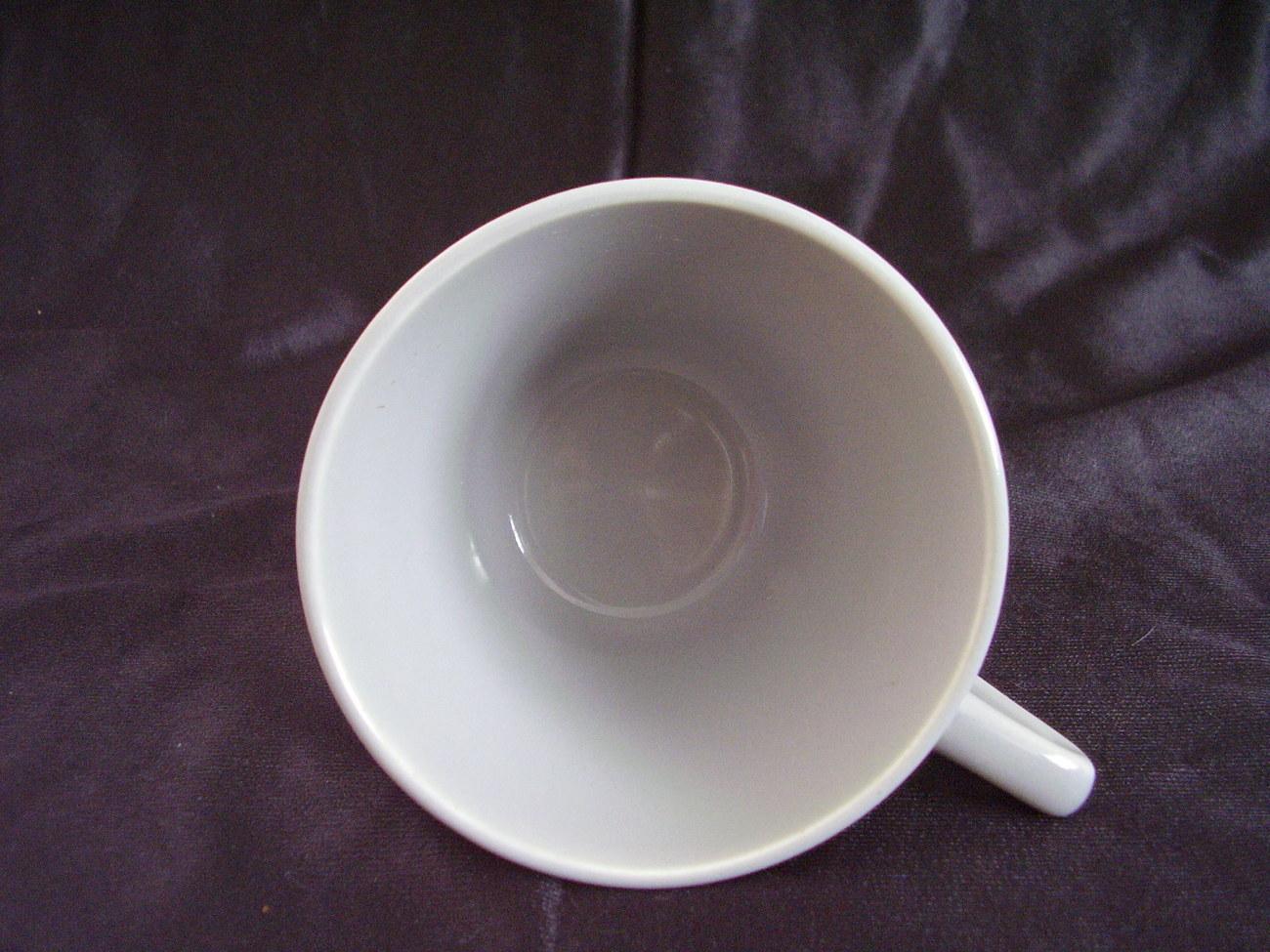 Vintage Homer Laughlin Harlequin Gray Grey Teacup