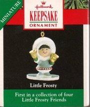 "Hallmark Keepsake 1990 ""Little Frosty"" Eskimo Girl Ornament - $6.95"