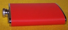 Liquer Flask Container Red Like New image 2