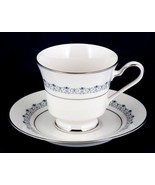Noritake Geri Cup and Saucer 7026 Ivory China New Stock - $6.00
