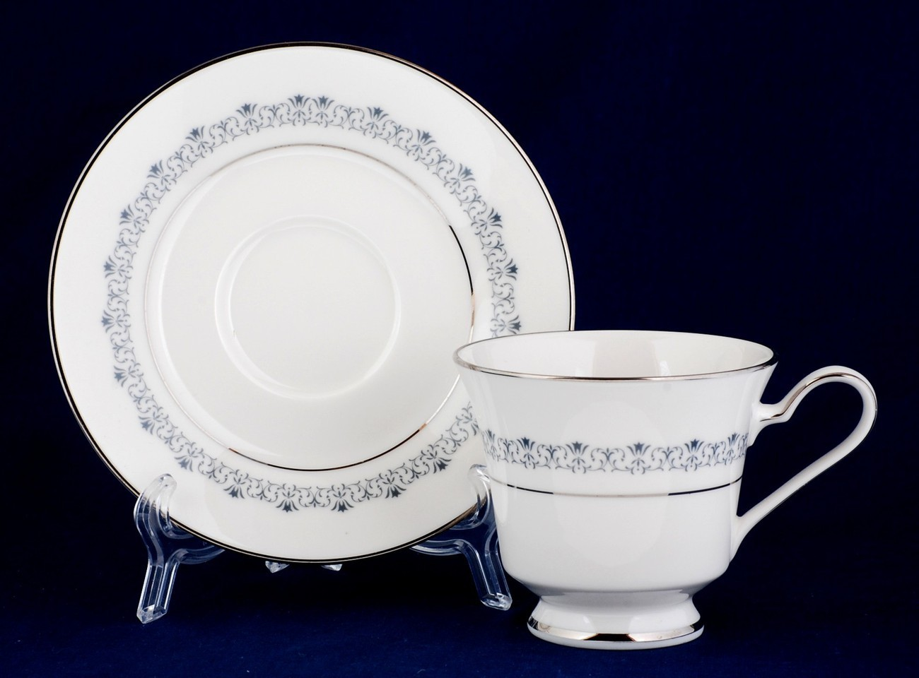 Noritake Geri Cup and Saucer 7026 Ivory China New Stock