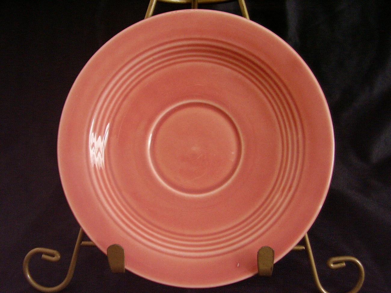Vintage Homer Laughlin Harlequin Rose Teacup Saucer B