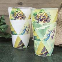 Legend of Zelda Video Game Hyrule Color Change 16 oz Drinking Glass NEW ... - $9.74