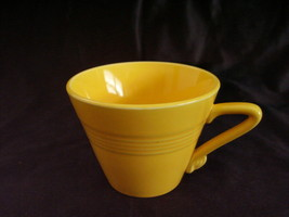 Vintage Homer Laughlin Harlequin Yellow Teacup  C - $22.32