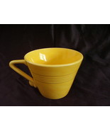 Vintage Homer Laughlin Harlequin Yellow Teacup  B - $9.36