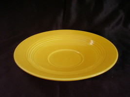 Vintage Homer Laughlin Harlequin Yellow Teacup Saucer B - $12.96