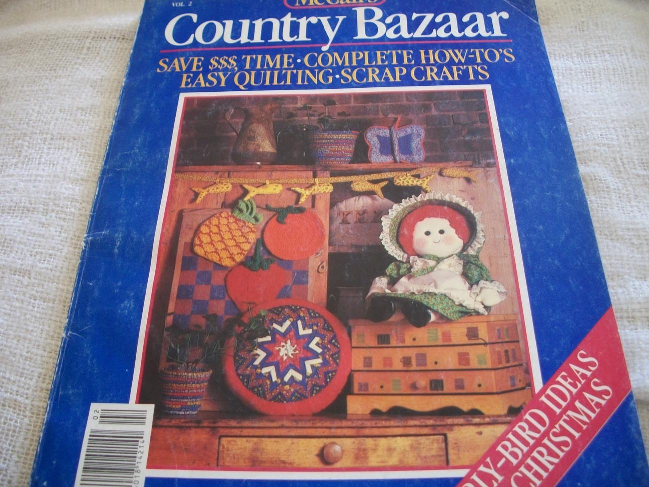 McCall's Country Bazaar Vol. 2 Magazine - $7.00