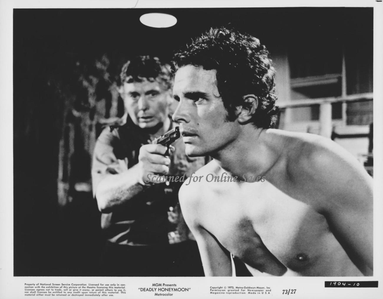 Deadly Honeymoon Dack Rambo 8x10 Photo 1663116