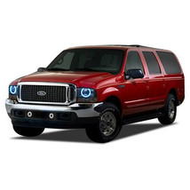 Brightest Blue LED Halo Ring Headlight Kit for Ford Excursion 00-04 - $96.33