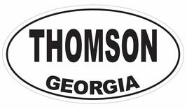 Thomson Georgia Oval Bumper Sticker or Helmet Sticker D2965 Euro Oval - $1.39+