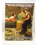 Jackson's Auctions Catalog Magazine American & European Fine Art Decembe... - $34.65