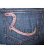 Rock & Republic Kiedis Bootcut Jean Pink 24 x36... - $49.99