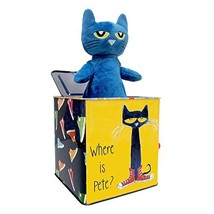 Pete The Cat Jack-in-The-Box - Musical Toy for Babies - $33.00