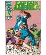 Captain America #325 ORIGINAL Vintage 1987 Marvel Comics 1st Slug Cameo - $19.79