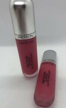Revlon Ultra Hd Matte Lipcolor #615 Temptation Lot Of 2 NEW/SEALED Pinks - $10.50