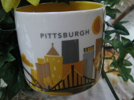 Official 2013 Starbucks Pittsburgh Pennsylvania Collector Series Coffee ... - $19.80
