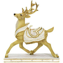 White Christmas Reindeer Figurine - $44.95