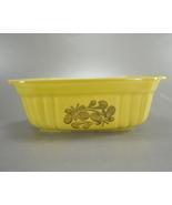 Pfaltzgraff USA Casserole Loaf Yellow 16 Ounce 1983 - $8.00
