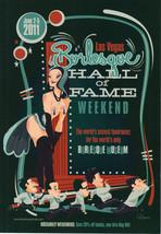 BURLESQUE HALL OF FAME Weekend 2011 Program - $3.95