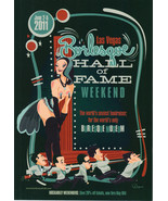 BURLESQUE HALL OF FAME Weekend 2011 Program - $3.95