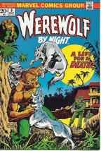 Werewolf By Night Comic Book #5, Marvel Comics 1973 VERY FINE- - $28.92