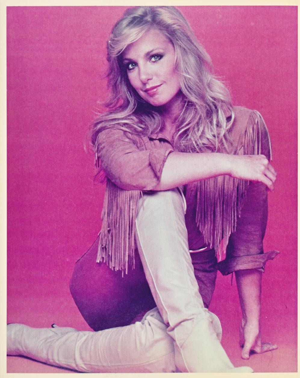 Heather Thomas Fringed Top  8x10 Photo
