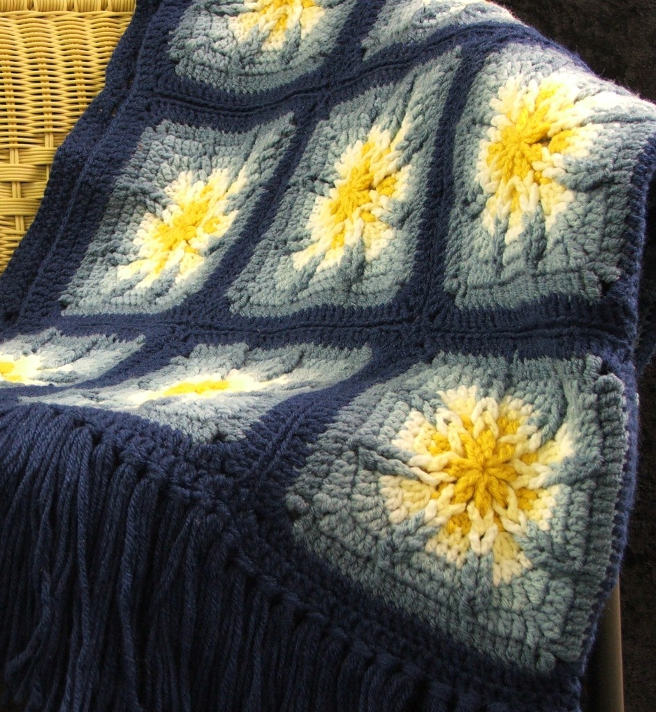 HARDCOPY Crochet Pattern Leaflet AMAZING STAR AFGHANS Unique Crochet Star Motifs