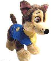 "Build-a-Bear Paw Patrol CHASE 14"" Blue Uniform Sound Box 4 Phrases Nickelodeon - $19.20"