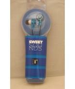 iessentials Sweet Sounds Ear Buds - Blue - New - $7.59