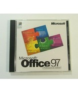 Microsoft Office 97 Professional Edition PC CD-ROM- Windows 95/NT - $4.98