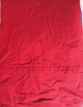 Ralph Lauren Twin Flat Sheet Cranberry Red 100% Cotton - $23.76