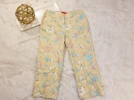 Oscer De La Renta Womens Capri Pants Floral Pas... - $29.03