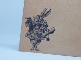 Alice in Wonderland Themed Wedding invitation Set: RSVP Reception Envelopes - £1.02 GBP+
