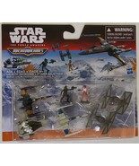 Star Wars Micro Machines Galactic Showdown X-Wing Tie Fighter Poe - $11.00