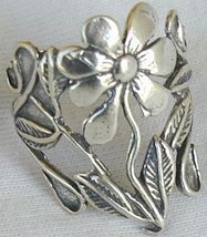 Silver flower ring a thumb200