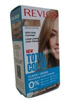 Revlon Total Color Hair Dye 81 Med Ash Blonde 100% Grey Coverage PERMANENT VEGAN - $6.92