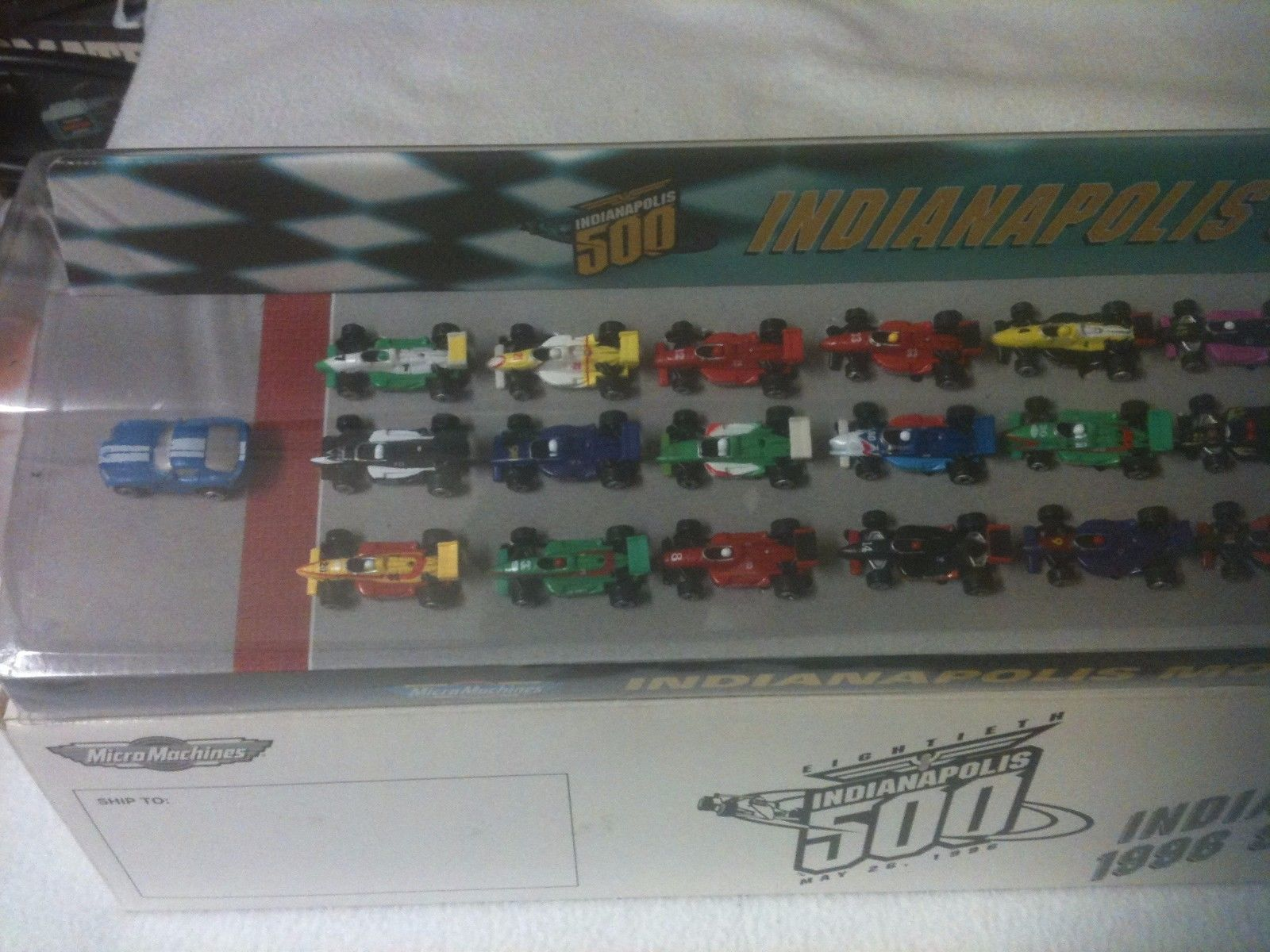 Micro Machines Indy 500 1996 Starting Grid and 50 similar items