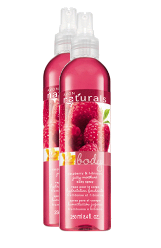 Primary image for  Avon Naturals Raspberry & Hibiscus Refresshing Body Spray