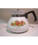 Corning Ware Spice of Life 6-Cup Teapot P-104,Conolic Lid USA - $18.00