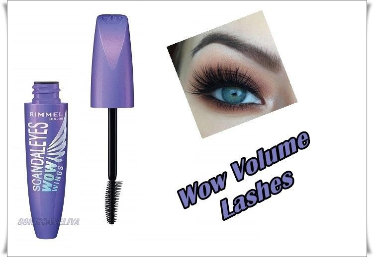 Rimmel Scandaleyes Wow Wings Mascara Black  Volume 12 ml - $9.88