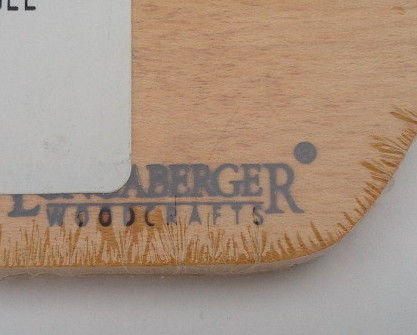 Longaberger Woodcrafts Single Bread Basket Divider NEW