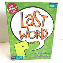 Last Word Buffalo Games Made in USA Incomplete Missing Letter Cards - $14.99