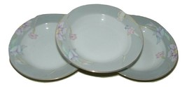 3 Vintage Mikasa Charisma Gray Rimmed Soup Bowl Grey 14836 - $44.54